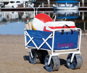 6 Best Beach Carts And Wagons For Sand The Coastal Side