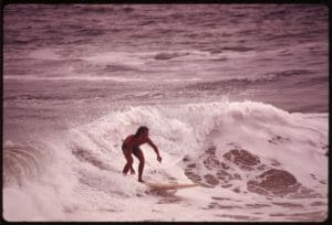 Newport beach - history of surfing