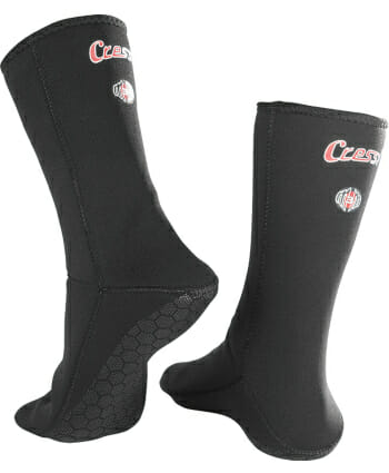 cressi metallite freedive spearfishing dive socks