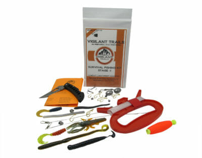 compact survival fishing kit