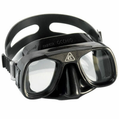cressi superocchio freediving spearfishing low volume mask