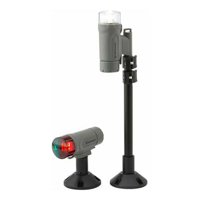 attwood deck mounted battery powered LED lighting kit