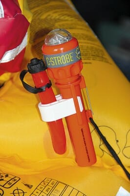 emergency strobe light for life jacket