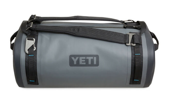 YETI airtight waterproof submersible duffel bag for kayaking, canoeing and SUP