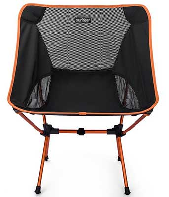 sunyear compact folding backpack chair