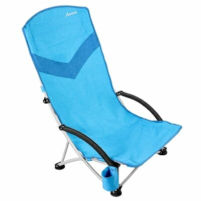 movtotop folding backpack beach chair