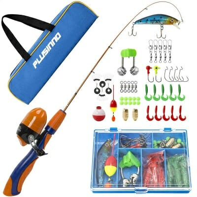 plusinno kids telescopic rod and reel kit