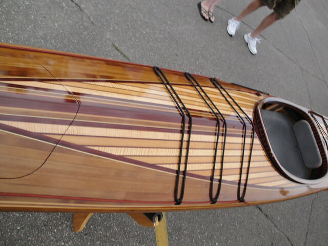 wood kayak material