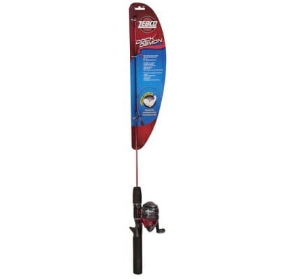 zebco dock demon kids fishing rod pole