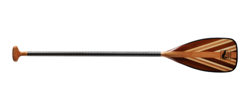 bending branches sunburst canoe paddle wood and carbon fiber