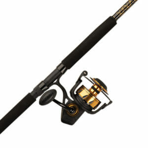 penn spinfisher rod and reel combo very heavy