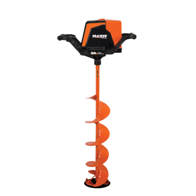 RAZR 24V electric ice auger