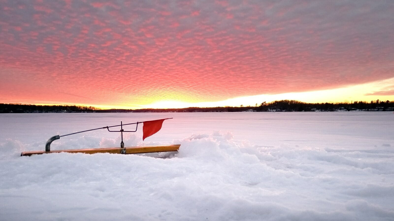 Ice Fishing Tip Ups Winter Stops Rod Freeze Round Hole Cover Free Your Hands