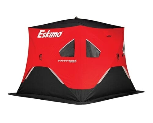 eskimo fatfish insulated ice fishing shelter