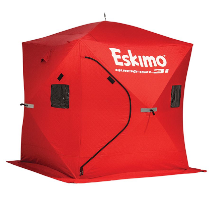 eskimo quickfish 2 man ice fishing shelter