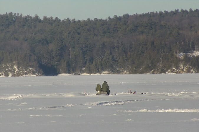 lake champlain vermont ice fishing