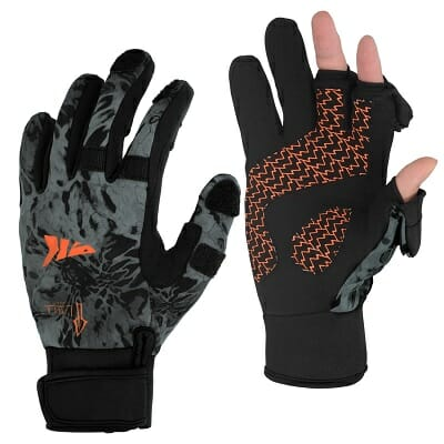 kastking mountain mist cold weather fishing gloves
