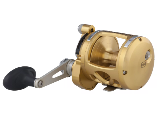 penn international VIS two speed lever drag fishing reel
