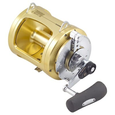shimano tiagra 2 speed conventional fishing reel