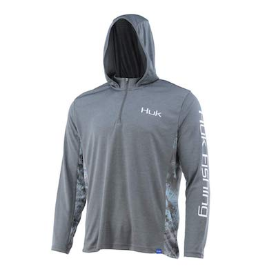 huk gear cold weather fishing hoodie