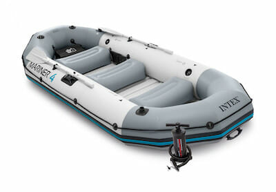 intex mariner 4 fishing raft