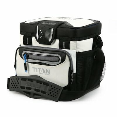 titan deep freeze beach cooler