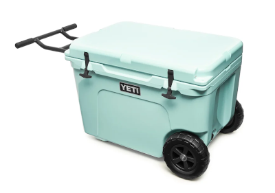 yeti tundra haul cooler with wheels