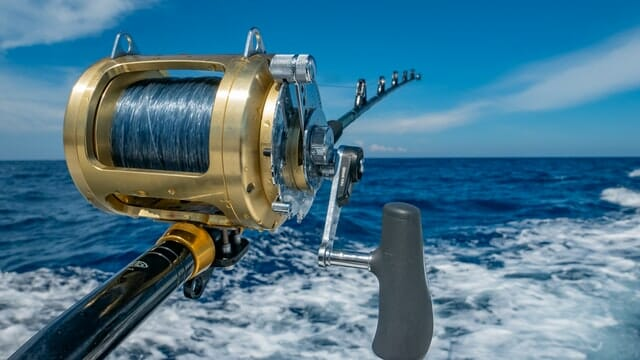 2-speed conventional offshore reel
