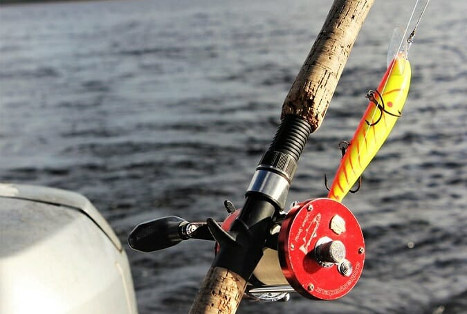 trolling rod and reel combo freshwater