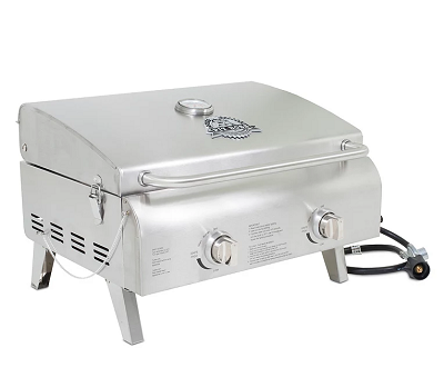 pitt boss 2 burner portable grill